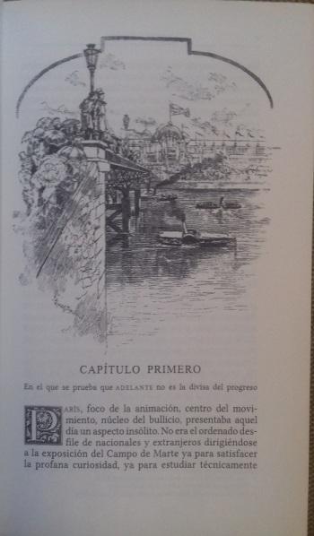 Primera página de El Anacronópete